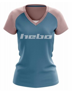 T-Shirt / maillot velo vtt all mountain LEVEL Woman HEBO
