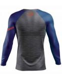 T-Shirt sport velo hiver all mountain downhill vtt CLIMATE PRO HEBO