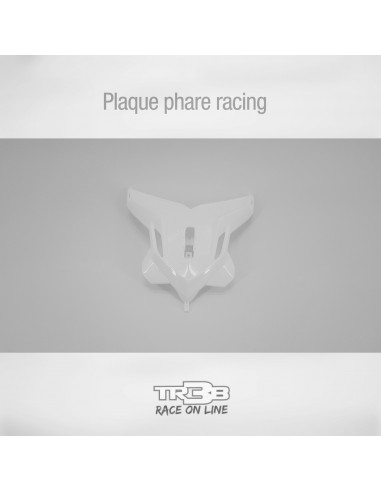 Plaque phare racing TRRS