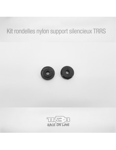 Kit rondelles nylon support silencieux TRRS