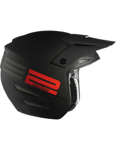 casque trial ZONE 02 FIBRE BRILLANT