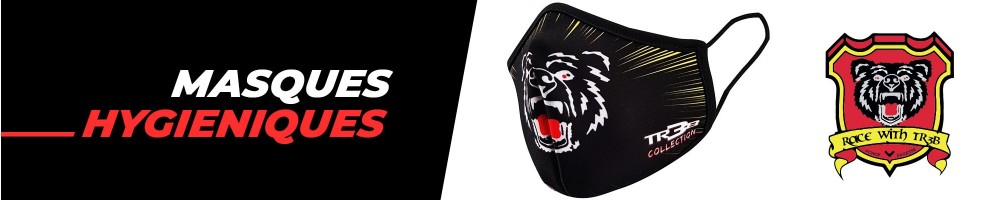 masques protections Covid Hebo TR3B