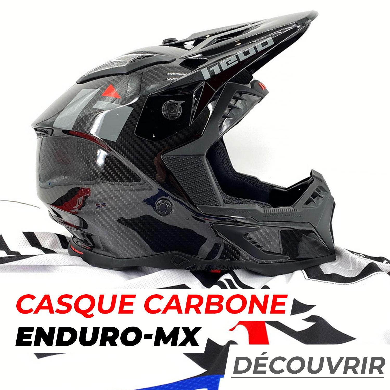 Casque HEBO Carbone